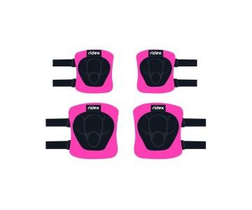 Комплект защиты Ridex Zippy, розовый р.M