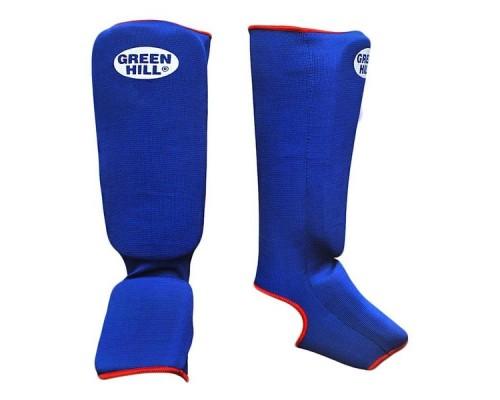 Защита голень-стопа Green Hill SIC-6131 синяя р.L