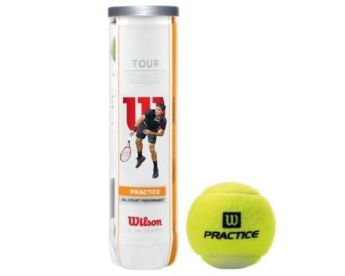 Мяч теннисный WILSON Tour Practice 4 шт.