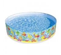 """Детский каркасный бассейн Intex 56452NP """"Ocean Play Snapset Pool"""" 183x38 см"""