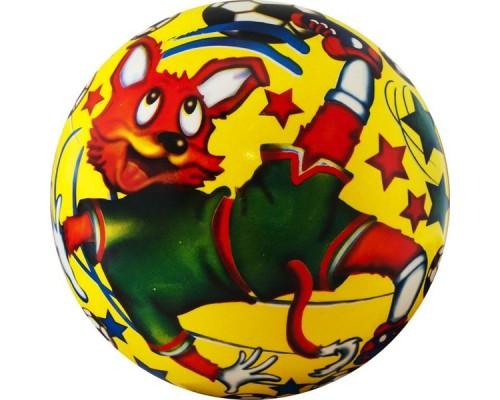 Мяч детский Веселый футбол арт.DS-PP 089 23 см, синий