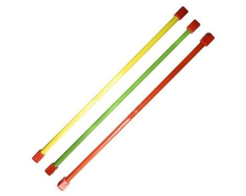 Гимнастическая палка (бодибар) 3 кг 120 см зеленый
