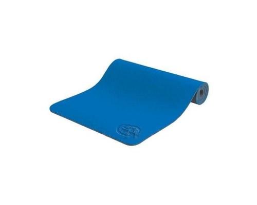 Коврик для йоги и фитнеса Lite Weights 5460LW (173*61*0,6см) синий/антрацит