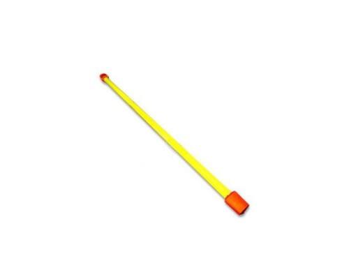 Гимнастическая палка (бодибар) 2 кг 120 см желтый