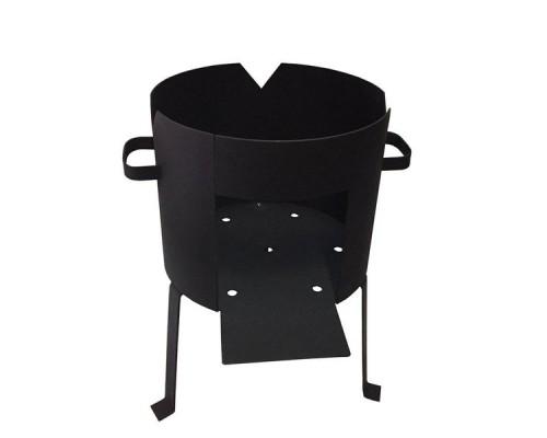 Печь для казана усиленная на 80 литров