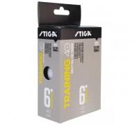 Мяч для настольного тенниса Stiga Training ABS арт.1110-2610-06 (6шт)