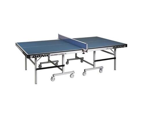 Профессиональный теннисный стол Donic Waldner Classic 25 синий 400221-B