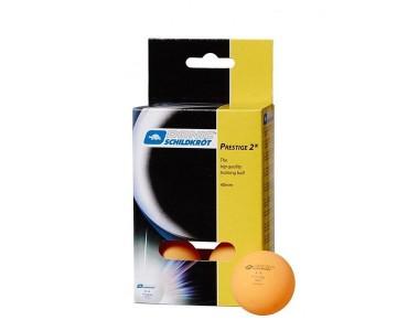 Мячики для н/тенниса Donic PRESTIGE 2 6 шт. оранжевый