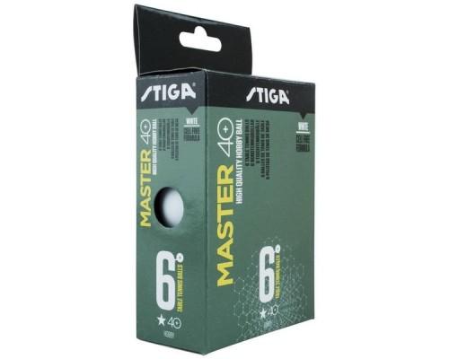 Мяч для настольного тенниса Stiga Master ABS 1* арт.1111-2410-06 (6шт)