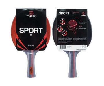 Ракетка для н/т Torres Sport 1* арт. TT0005