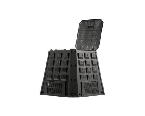 Компостер Prosperplast Evogreen 420 л чёрный