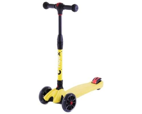 Самокат 3-колесный Ridex Stark 3D желтый