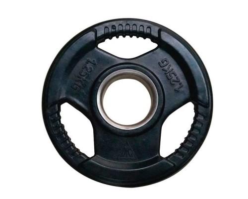 Диск обрезиненный чёрный DFC WP015 d-51 мм 1,25 кг