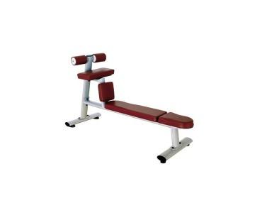 Скамья для скручиваний горизонтальная Bronze Gym H-035 (коричневый)