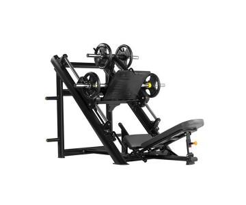 Жим ногами под углом 45 градусов Bronze Gym H-022 (черный)
