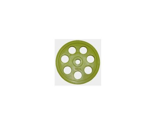 "Олимпийский диск евро-классик с хватом Oxygen ""Ромашка"" 15 кг"