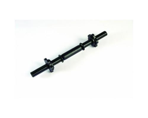 Гриф гантельный пластиковый d-26 длина 41 см, усиленный